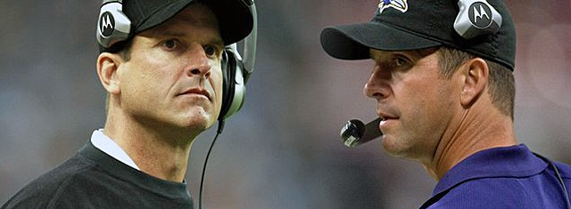 Harbaugh Brothers vow to join forces and rule all of Football