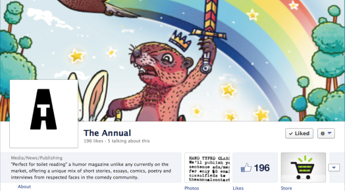 """Like"" The Annual on Facebook!"