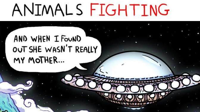 Animals Fighting #01