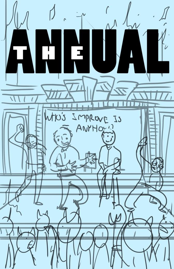 Annual #4 Cover Concept