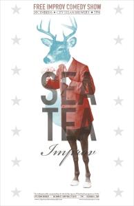 Original Sea Tea Poster Designed by Brian Cook