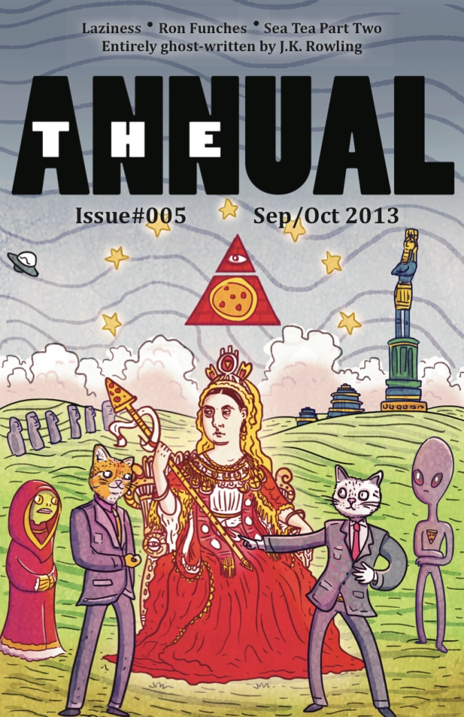 The Annual #5 OUT NOW!