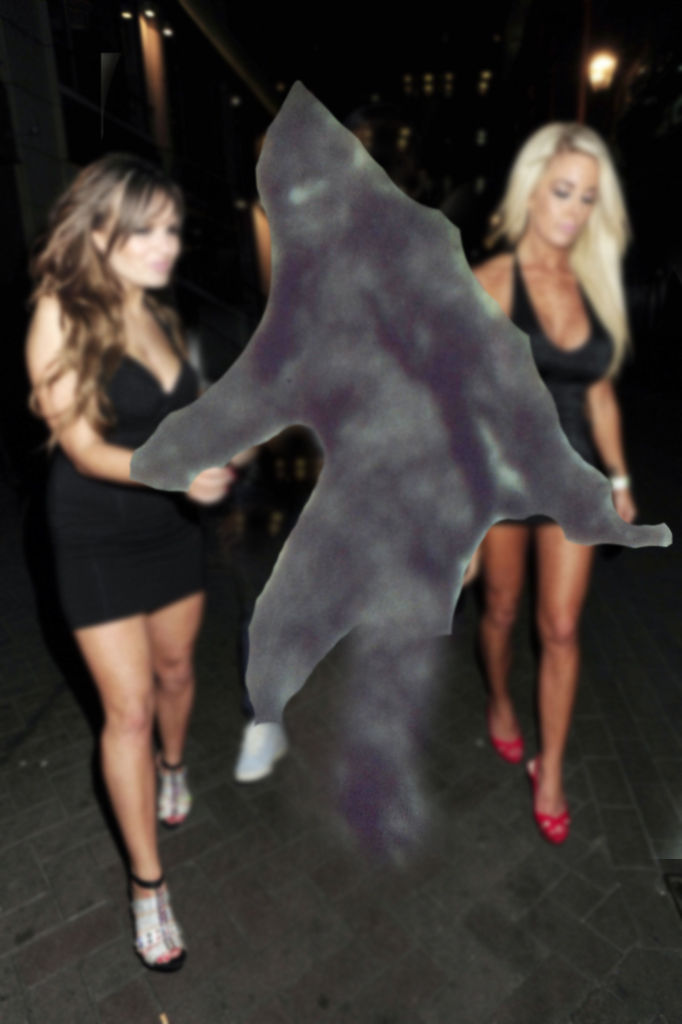 Girls with Bigfoot
