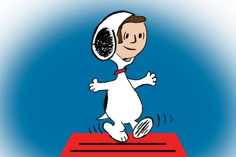 Brad Sherwood Snoopy Color