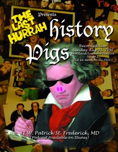 History Pigs Beethoven Poster