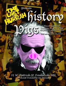 History Pigs Einstein Poster