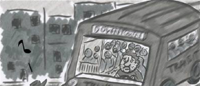 Sad New Yorker: Transit