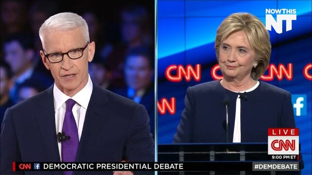 This Moment Rocked the #DemDebate