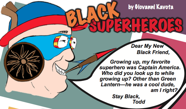 New Friend – Black Superheroes