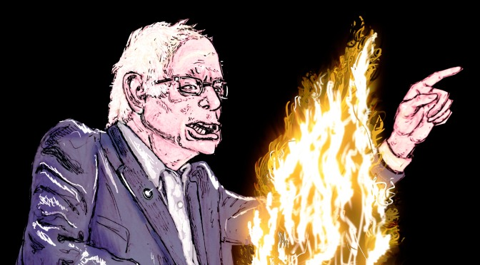 Bernie's Campfire – Single Issue Candidate