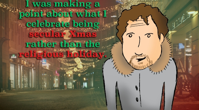 Two Distinct Holidays: Celebrating Secular Xmas with Connor Ratliff