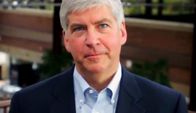 Aren't We All Being Poisoned? – Gov. Rick Snyder