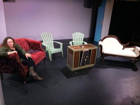 See every chair imaginable at The Last Hurrah - Sundays at 7pm Maryland Ensemble Theatre
