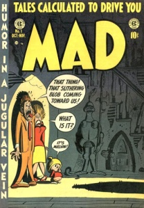 MAD Magazine Issue #1 - Cover by Harvey Kurtzman