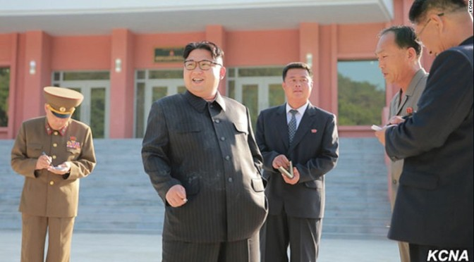 Kim Jong Un Spends Weekend Smoking Entire Pack Of Cigarettes To Illustrate Dangers