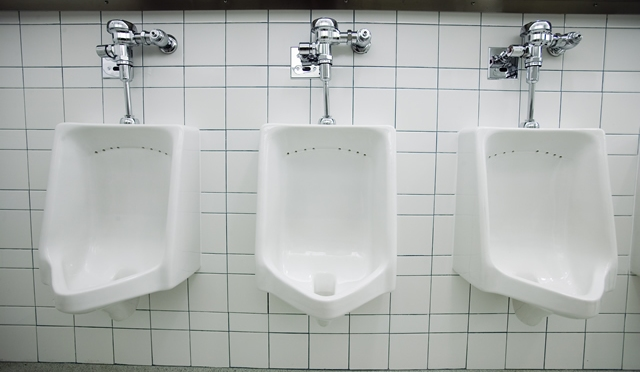 Man Stuck At Urinal for 30 Minutes due to Shyness